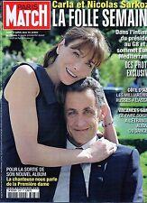 Paris Match.Carla Bruni e Nicolas Sarkozy,Daphne Guiness,Johnny Hallyday,iii
