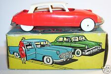 OLD MINIALUXE CITROEN DS 19 ROUGE ORANGE TOIT IVOIRE REF 16 1/43 1959 IN BOX