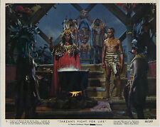 TARZAN'S FIGHT FOR LIFE photo WOODY STRODE/JAMES EDWARDS original color still