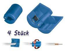 4x Abisolierer für Koaxial-Kabel 8,2-mm Antennenkabel Sat F-Stecker Werkzeug TV