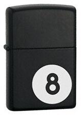 Mechero Zippo bola billar numero 8
