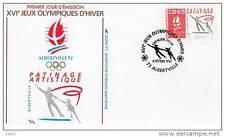 Jeux olympiques d´ Albertville 1992 - Patinage Artistique - 08/02/1990 - Albertv