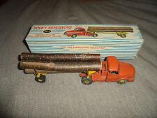 DINKY TOYS supertoys - tracteur WILLEME avec semi-remorque Fardier 36A en boîte