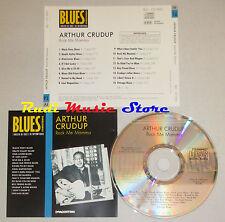 CD ARTHUR CRUDUP Rock me mamma BLUES COLLECTION 1993 DeAGOSTINI mc lp dvd vhs