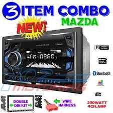 96-06 MAZDA DOUBLE DIN AM/FM BLUETOOTH USB IPOD IPHONE AUX CAR STEREO RADIO