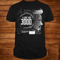 Avengers Endgame I love you 3000 Iron Man Men T-Shirt S-6XL