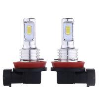 A Pair Car LED Light Lamp 35W 4000LM 6000K  White H11 H8 H9 Fog Lights Bulbs