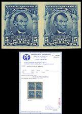315 Mint Superb OG NH GEM Pair With PFC Certificate of Authenticity Stuart Katz