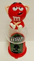 M & M's Red Gumball Style Dispenser
