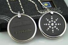 Colgante Collar Cadena Scalar Bio Energía + Protector De Metal & CZ Detalle De Diamante