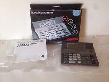 Texas Instruments Europa TI-3400 Calculator In Box Complete Nice