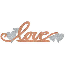 LOVE TABLE DECORATION rose gold silver sign wedding bridal baby shower photo NEW