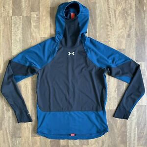 Under Armour ColdGear Reactor Gore WindStopper Long Sleeve Teal 1317483-489 (M)