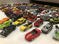 Hot Wheels Matchbox Maisto Mixed Lot Of 125 Used Die Cast Vehicles