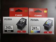 New Genuine Canon PG 240XL Black, CL 241XL Multicolor Ink Cartridges  SEALED