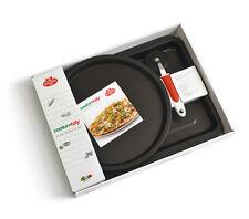 BALLARINI (Made in Italy) Cookin'italy 3Pc Non-Stick PIZZA FOCACCIA SET w/Cutter