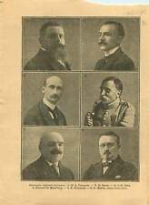 Députés Lorraine Dr François Serot Général de Maud'huy Meyer 1919 ILLUSTRATION