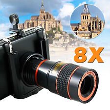 Universal 8x Zoom Optical Lens holder Mobile Telescope For Camera Mobile Phone