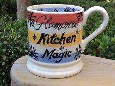 EMMA BRIDGEWATER Fabulous Modern Kitchen . Kitchen Magic . 1/2 pint MUG