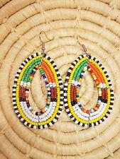 New African Maasai Earrings Masai Massai Africa S/M jemo450