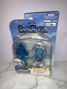 The Smurfs Movie Grab Ems 2 pack Toys R Us Exclusive Smurfette & Gutsy Figures
