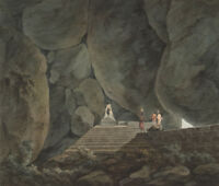 "perfect oil painting handpainted on canvas ""A passage through the rocks""N6829"