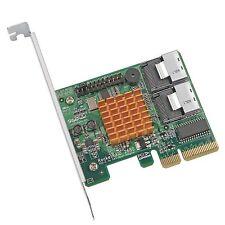 SAS interne Schnittstelle Karte mit PCI Express x4 Buchse