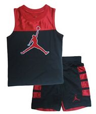 NIKE AIR JORDAN OUTFIT SHIRT & SHORTS BASKETBALL BOYS GIRLS Set Size 24 Months