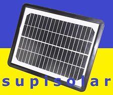 ☼ CAMPING SOLAR-LADEGERÄT SOLARPANEL SOLARMODUL AUTO-BATTERIE KFZ HANDY NAVI USB