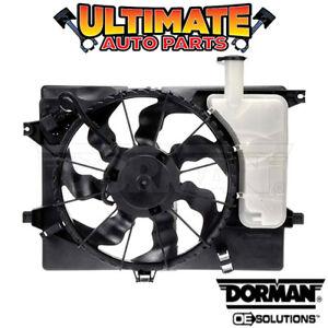 Radiator Cooling Fan (1.8L or 2.0L) for 2014 Kia Forte Forte5 or Forte Koup