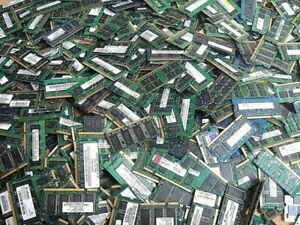 Lot revendeur 10 x Barrette Ram 2 Go DDR3 Sodimm - Samsung-Kingston-Hynix-Micron