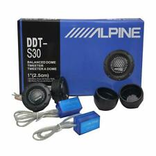 "Alpine Ddt-s30 1"""" Soft Dome Balanced Car Tweeters 360w US Stock Fast"