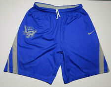 Authentic BYU COUGARS NIKE NCAA College Basketball Training Practice Shorts L