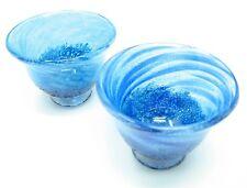 Cobalt Glass Sake Cup (Handmade in Okinawa)