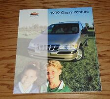 Original 1999 Chevrolet Venture Sales Brochure 99 Chevy