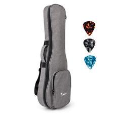 Kmise Baritone Gig Bag 30 Inch Case for Guitarlele UBASS Guitar Double Strap