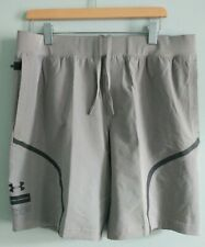 Under Armour Grey Shorts Fitted Coupe Shorts Sz XL