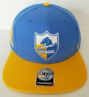 LOS ANGELES CHARGERS HISTORIC OMAHA 47 Brand Strapback Hat - BRAND NEW & RARE