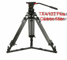 Teris V12T  Plus Carbon Fiber Tripod with fluid head