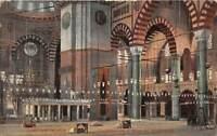 br105063 l interieur de la mosquee suleymanie constantinople   turkey instanbul