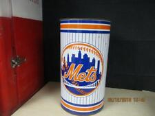 NEW YORK METS P&K PRODUCTS TRASH CAN WASTE BASKET MAN CAVE COLLECTOR