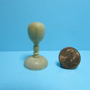 """Dollhouse Miniature Tall 1 1/2"""" Wood Hat Stand IM65434"""