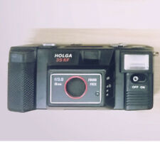 NEW Holga 35KF lomography 35mm Film black Camera with Flash discontinued