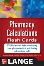 LANGE PHARMACY CALCULATIONS FLASH CARDS ~ NEW!!! ~ $60 Retail