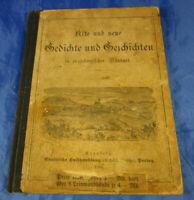 """Gedichte und Geschichten in erzgebirgischer Mundart """"Allerhand Kräuterich!"""" 1903"""