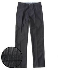 NEW Cutter & Buck Men's Bishop Stretch Houndstooth Pants - Black - Size: 36x36