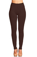 BROWN Buttery Soft Solid Brown Leggings Solid Unicorn Leggings One Size OS 2-12