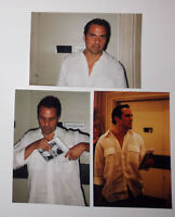 Maurice Benard Photo Lot 4x6 1999 General Hospital Sonny Corinthos 3 Pictures