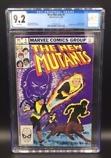 AMAZING BRONZE AGE NEW MUTANTS ISSUE 1 MARVEL COMIC BOOK CGC 9.2 WHITE PAGES