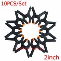 10pc 2inch DIY Tools Plastic Nylon Toggle Clamps For Spring Clip Grampo Clamp hi